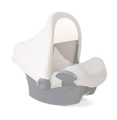 Maxi-Cosi carseat canopy | shade cloth OffWhite